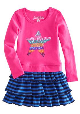 Shining Star & Ruffle Dress