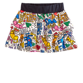Doodle Tiered Skirt