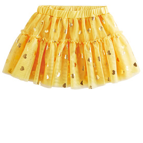 Yelow Heart Sparkle Tutu