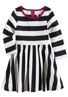 Stripe Twirly Dress