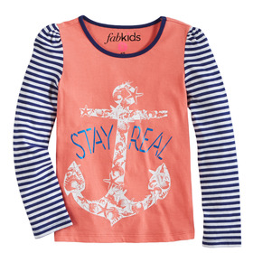 Stay Real Raglan Tee