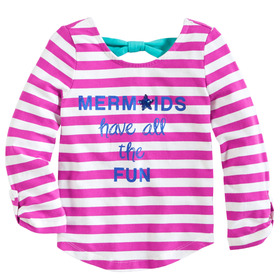Bow Back Mermaid Tee