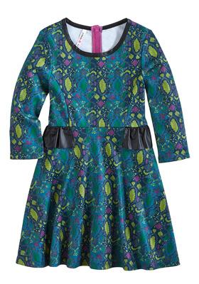 Python Skater Dress