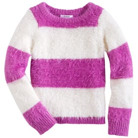 Stripe Fuzzy Sweater