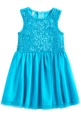 Sequin & Tulle Dress