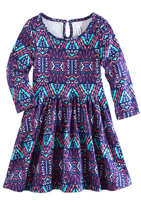 Geo Twirly Dress