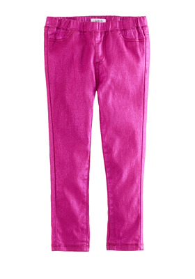 Pink Metallic Jegging