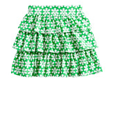 Flower Ruffle Skirt