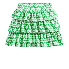 Flower Tiered Skirt