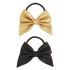 2pack Bow Ponytail Holder