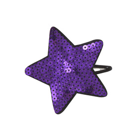 Sequin Star Barrette