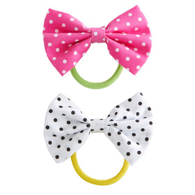 2-Pack Bow Ponytail Holder