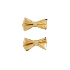 2-Pack Gold Bow Clippies