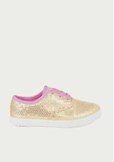 FabKids Sequin Sneaker