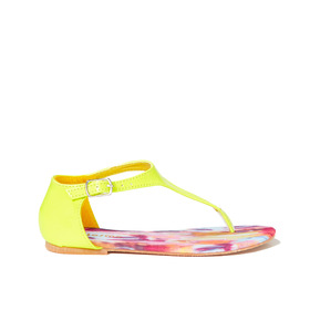 Neon Yellow Sandal