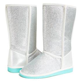 Silver Glitter Fuzzies
