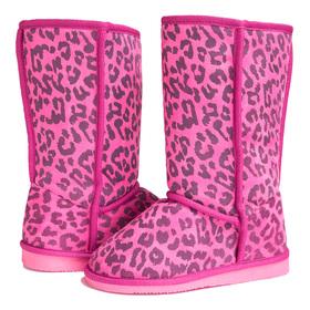 Pink Leopard Fuzzies