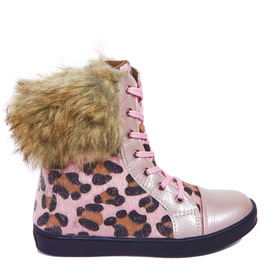 Leopard Fur Boot