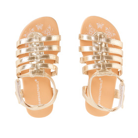 Strappy Gold Sandal