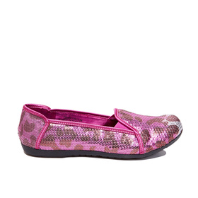 Cheetah Sequin Flat
