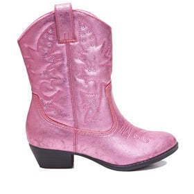 Metallic Cowboy Boot