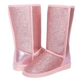 Pink Glitter Fuzzies