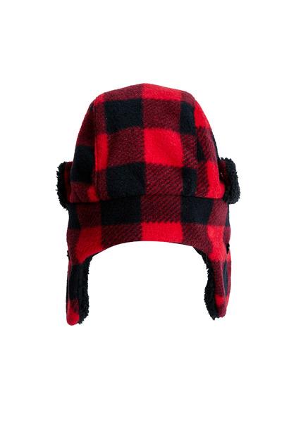 Buffalo Check Trapper Hat