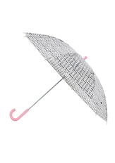 Clear Cat Print Umbrella