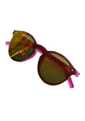 Clear Purple Sunglasses