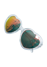 Clear Heart Sunglasses