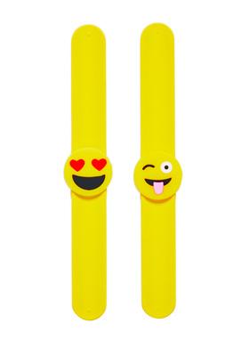 Emoji Slap Bracelet