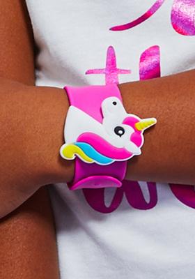 Unicorn Slap Bracelet