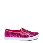 Pink Glitter Slip On
