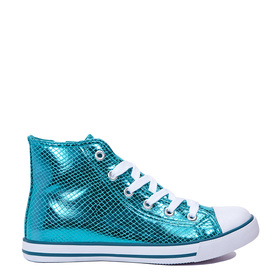 Metallic High Top Sneaker