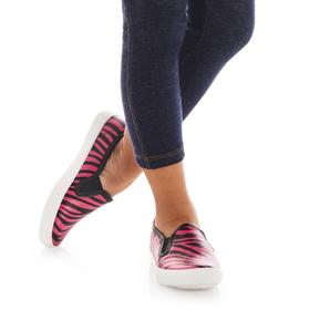 Pink Zebra Slip On
