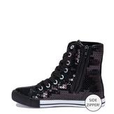 Sequin High Top Sneaker