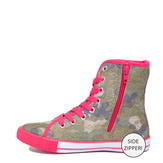 Camo High Top Sneaker