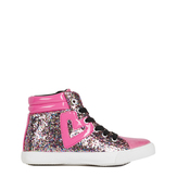 Glitter High Top Sneaker