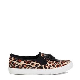 Fab Leopard Slip On