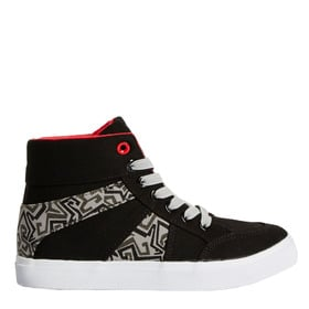Two Tone High Top Sneaker