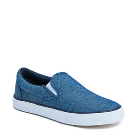 Chambray Slip On