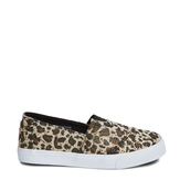 Leopard Canvas Slip On