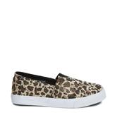 Leopard Canvas Slip On