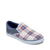 Plaid & Chambray Slip On