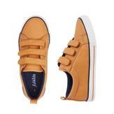 Tan Multi-Strap Sneaker