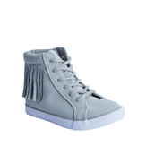 Fringe High Top Sneaker