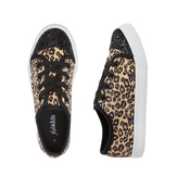 Black Leopard Sneaker