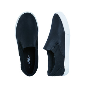 Black Slip On