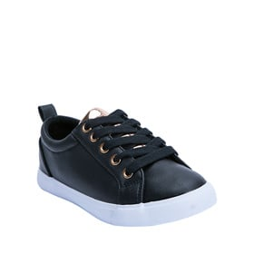 Faux Leather Low Top