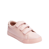 Pink Three-Strap Sneaker